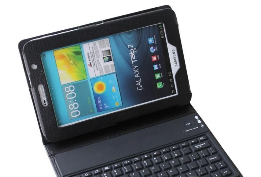 Wireless Bluetooth Keyboard For Samsung Note 8'' inch N5100 Tablet Case  Stand